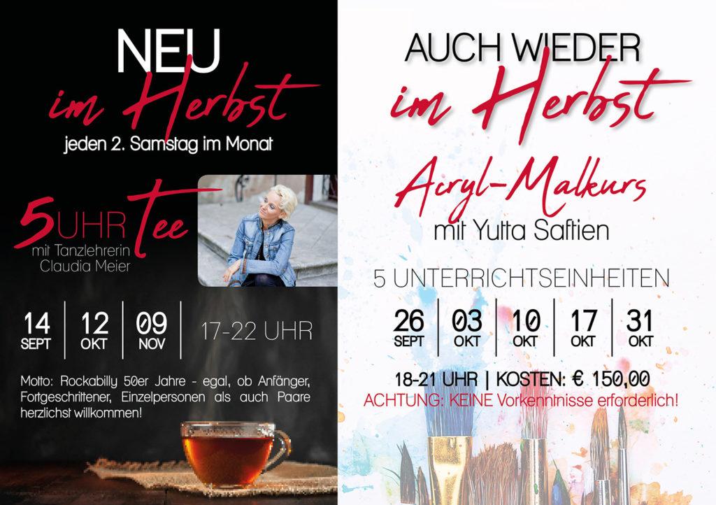 sKunstwerk, Veranstaltungen 3. Drittel, Herbst, Claudia Meier, Acryl Malkurs